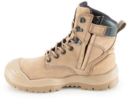 MONGREL 561060 SAFETY BOOT - ZIP & BUMP CAP-WORK BOOT-BOOTS CLOTHES SAFETY-BOOTS CLOTHES SAFETY