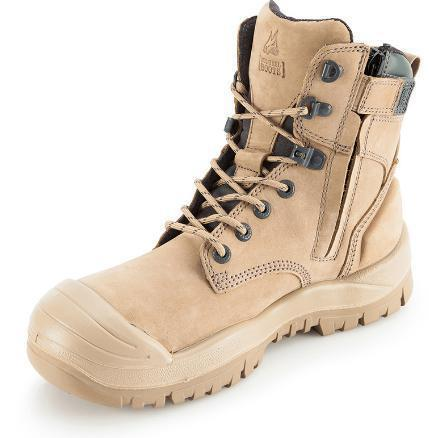 MONGREL 561060 SAFETY BOOT - ZIP & BUMP CAP