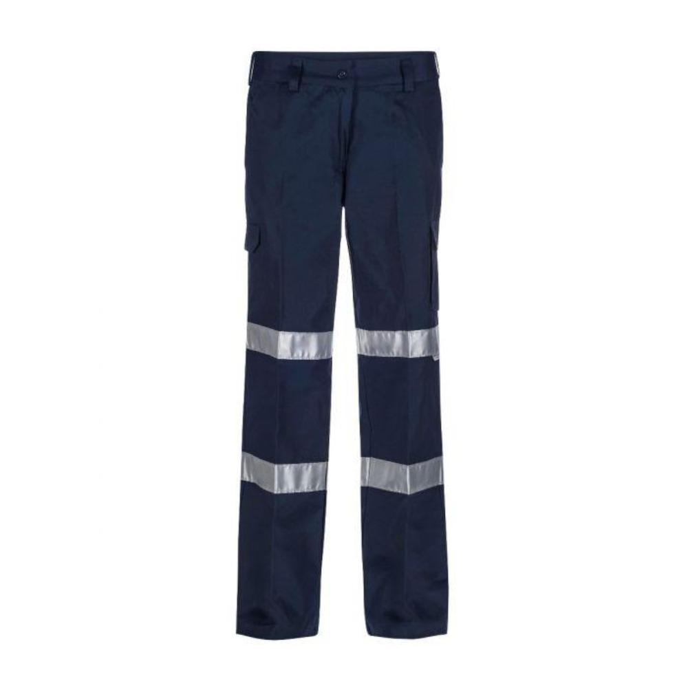 NCC WPL075 LADIES CARGO PANT TAPED