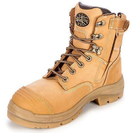 OLIVER 55332Z LACE UP ZIP SIDE SAFETY BOOT