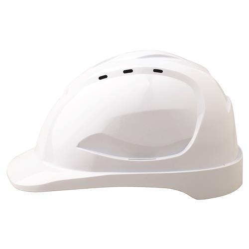 PRO HHV9-W VENTED HARD HAT - PUSH LOCK HARNESS-HARD HAT-BOOTS CLOTHES SAFETY-WHITE-OSFA-BOOTS CLOTHES SAFETY