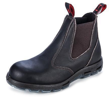 REDBACK USBOK ELASTIC SIDED SAFETY BOOT-WORK BOOT-BOOTS CLOTHES SAFETY-CLARET-6AU-BOOTS CLOTHES SAFETY