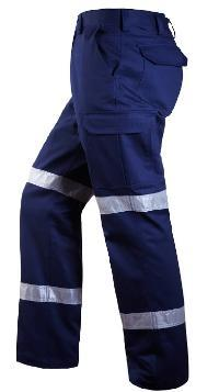 RITEMATE RM1004RLW L/W TAPED CARGO PANTS-HI VIS PANTS-BOOTS CLOTHES SAFETY-BOOTS CLOTHES SAFETY
