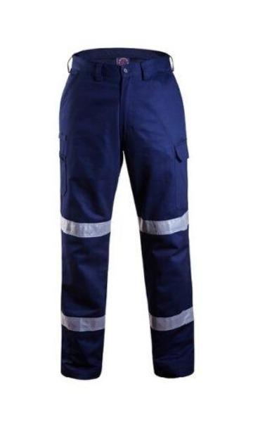RITEMATE RM1004RLW L/W TAPED CARGO PANTS-HI VIS PANTS-BOOTS CLOTHES SAFETY-NAVY-77R-BOOTS CLOTHES SAFETY
