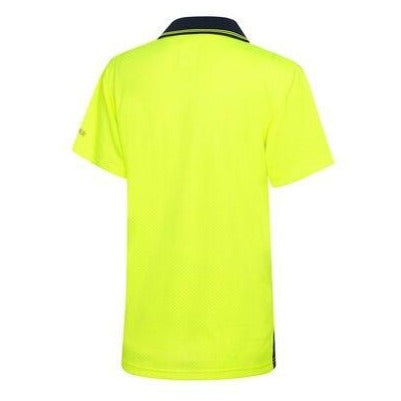 VISITEC AIRWEAR HI VIS POLO S/S-HI VIS POLO-BOOTS CLOTHES SAFETY-BOOTS CLOTHES SAFETY