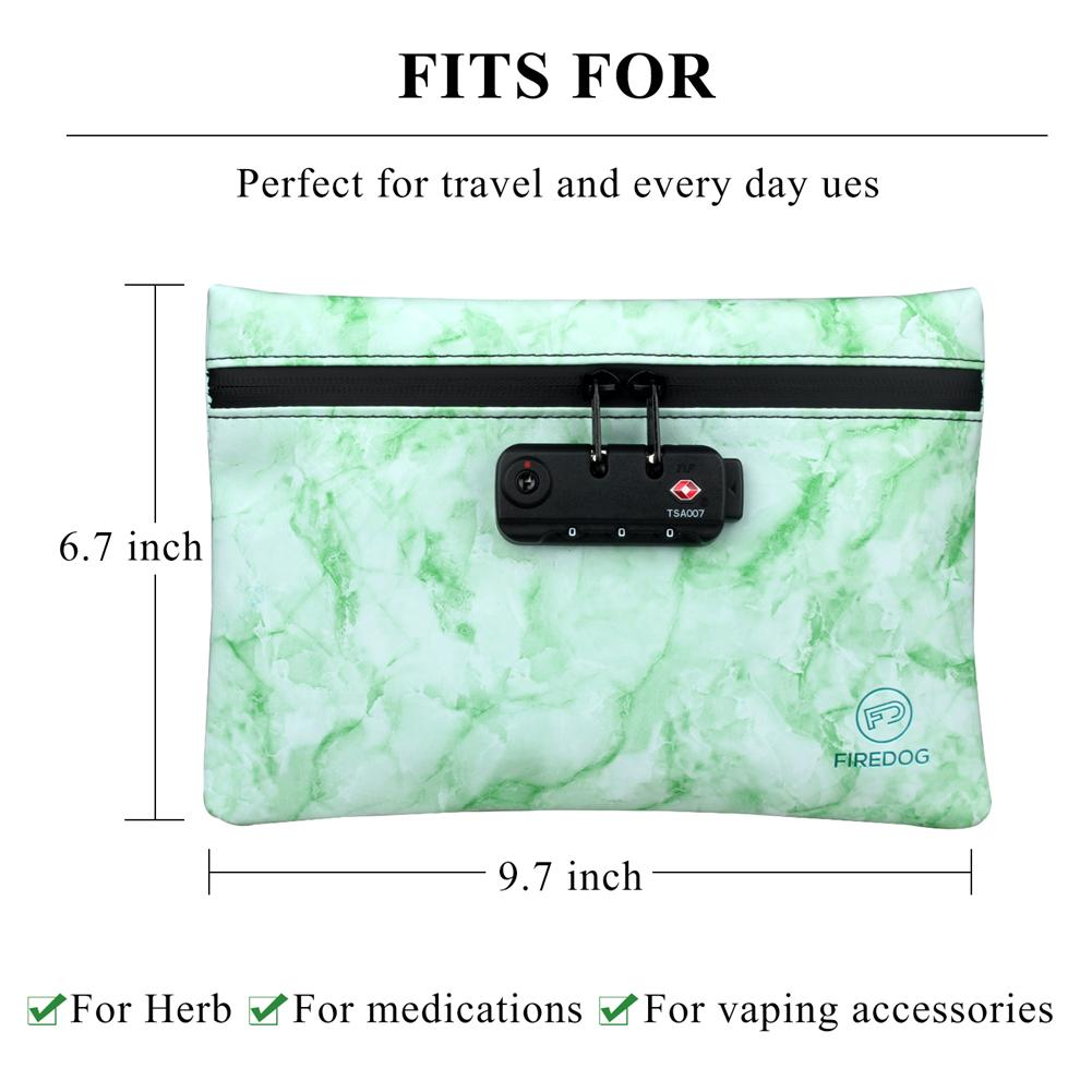 ODOR PROOF STASH BAG WITH LOCK SMELL PROOF BAG CUTE STASH BAGS