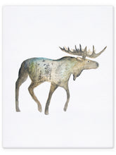 Load image into Gallery viewer, Double Exposure Moose
