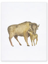 Load image into Gallery viewer, Mommy & Me Baby Animals - Bison / Buffalo