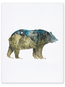 Double Exposure Bear