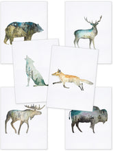 Load image into Gallery viewer, Double Exposure Deer