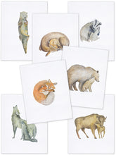 Load image into Gallery viewer, Mommy & Me Baby Animals - Wolf