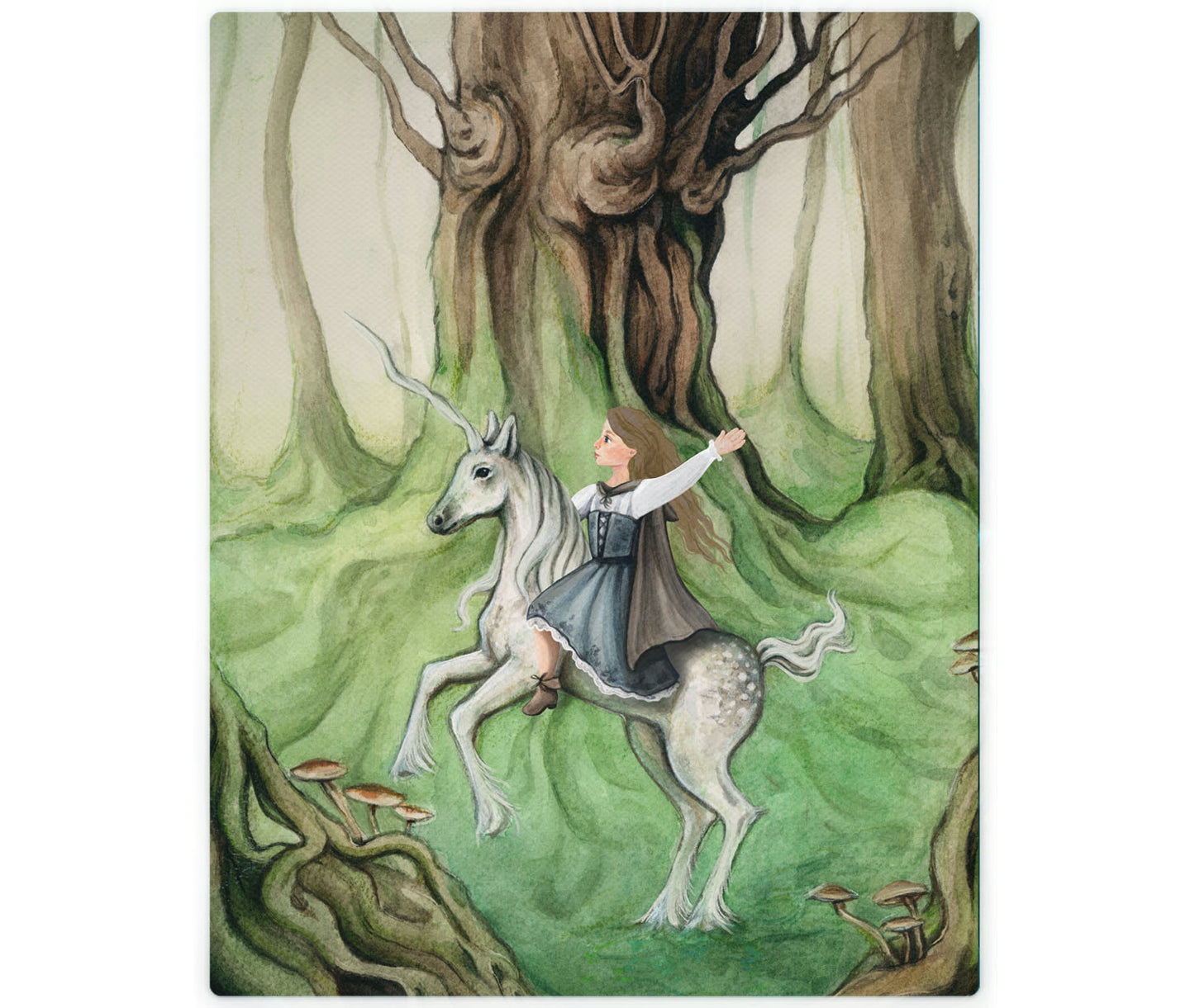 Unicorn: Customize Your Child In A Fairytale Painting