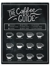Load image into Gallery viewer, Coffee Guide Chart