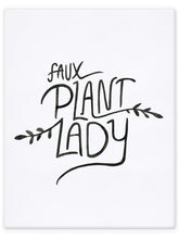 Load image into Gallery viewer, Faux Plant Lady / Plant Lady