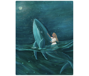 Whale: Customize Your Child In A Fairytale Painting