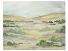 Load image into Gallery viewer, Summer Fields  - Watercolor Landscape