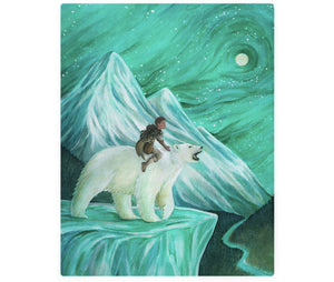 Polar Bear: Customize Your Child In A Fairytale Painting