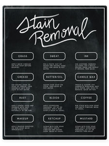 Stain Removal Laundry Care Guide