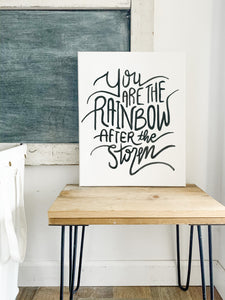 You Are The Rainbow After The Storm, Rainbow Baby