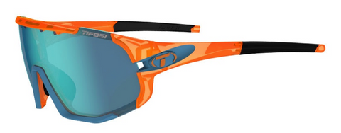 TIFOSI SLEDGE | CRYSTAL ORANGE CLARION BLUE, AC RED & CLEAR LENSES