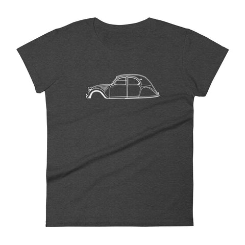 Citroën 2CV Women's Short Sleeve T-Shirt