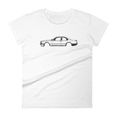 BMW E24 Women's Short Sleeve T-shirt