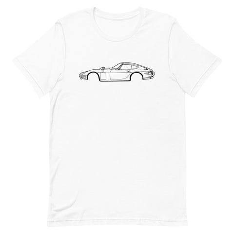 T-shirt Homme Manches Courtes Toyota 2000 GT