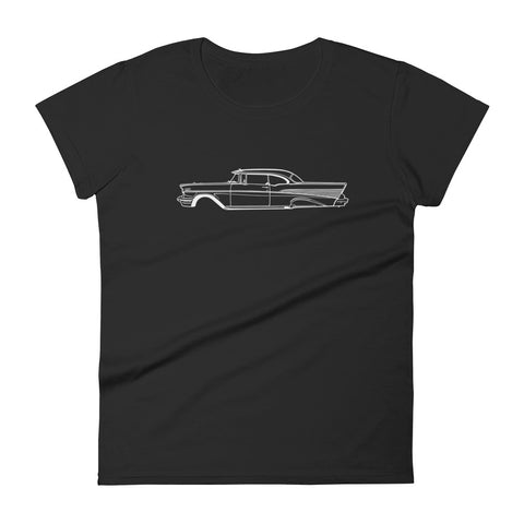 Chevrolet Bel Air mk2 Women's Short Sleeve T-Shirt