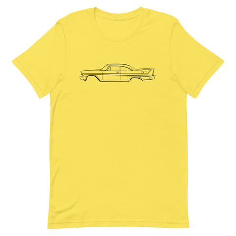 Plymouth Fury 58 Men's Short Sleeve T-Shirt