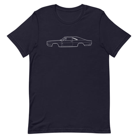 T-shirt Homme Manches Courtes Dodge Charger mk2