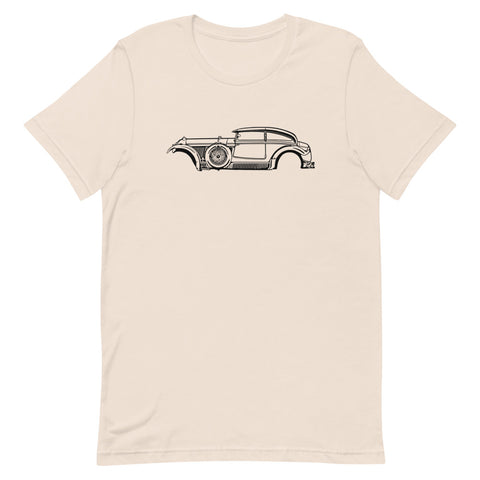 T-shirt Homme Manches Courtes Bentley Speed Six « Blue Train Spécial »