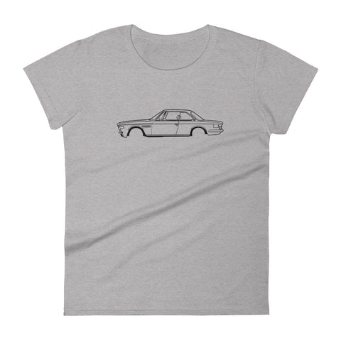 BMW E9 Women's Short Sleeve T-Shirt