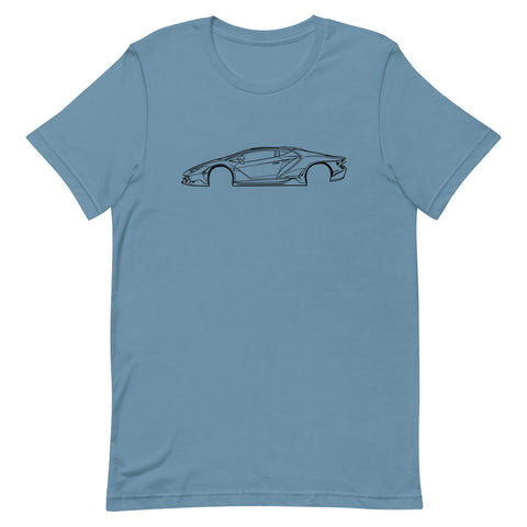 Lamborghini Centenario Men's Short Sleeve T-Shirt