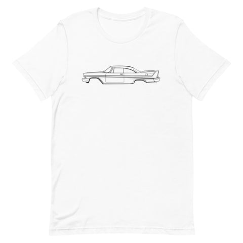 T-shirt Homme Manches Courtes Plymouth Fury 58