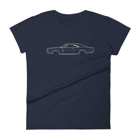 T-shirt femme Manches Courtes Dodge Charger mk2