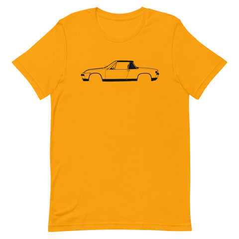 Porsche 914 Men's T-shirt Short Sleeve