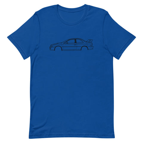 Subaru Impreza mk1 Men's T-shirt Short Sleeve