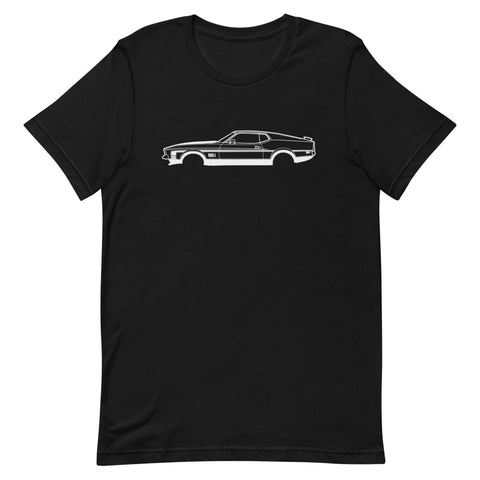 T-shirt Homme Manches Courtes Ford Mustang Mach 1 mk2
