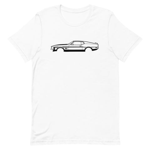 Ford Mustang Mach 1 mk2 Men's Short Sleeve T-Shirt