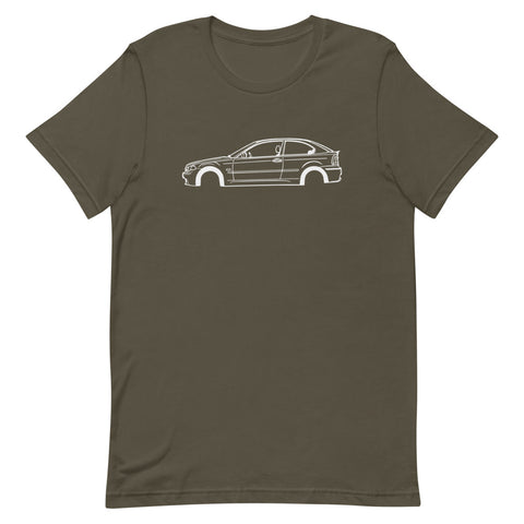 BMW E46 Compact Men's Short Sleeve T-Shirt