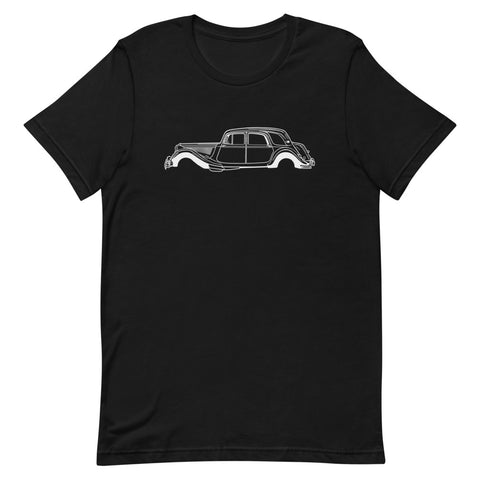 Citroën Traction Avant Men's Short Sleeve T-shirt