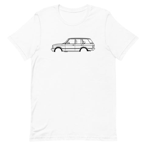 T-shirt Homme Manches Courtes Land Rover Range classic