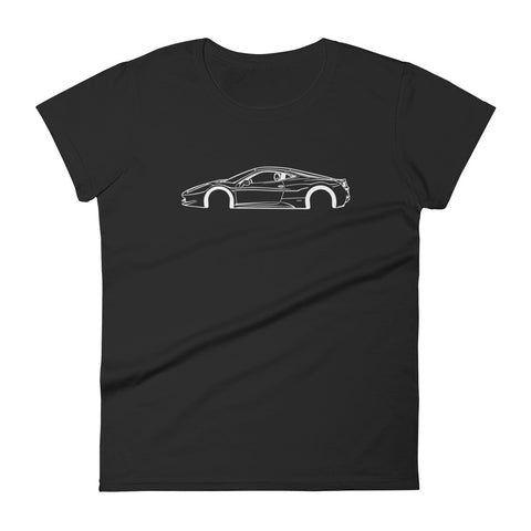 Ferrari 458 Italia Women's Short Sleeve T-Shirt
