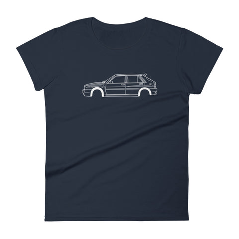 Lancia Delta Integrale Women's Short Sleeve T-Shirt