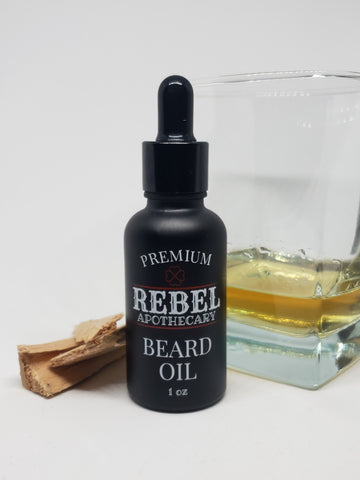 Sandalwood Bourbon Beard Oil