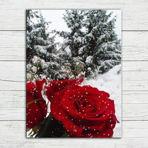 Frosted Rose Diamond Painting