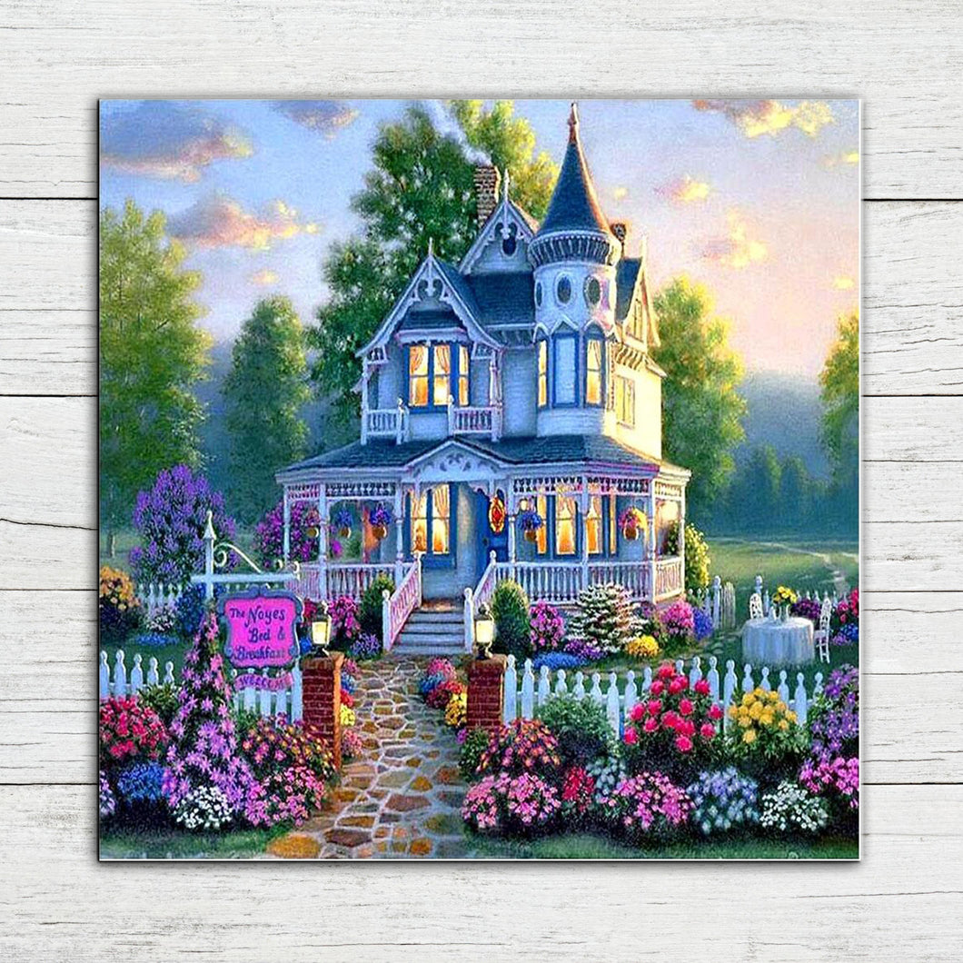 Beautiful House Diamond Painting