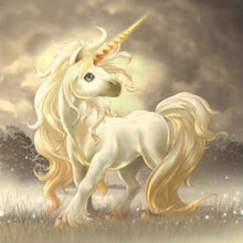 Load image into Gallery viewer, Elegant Unicorn Diamond Painting