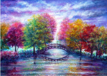 Load image into Gallery viewer, Autumn Tree Diamond Painting