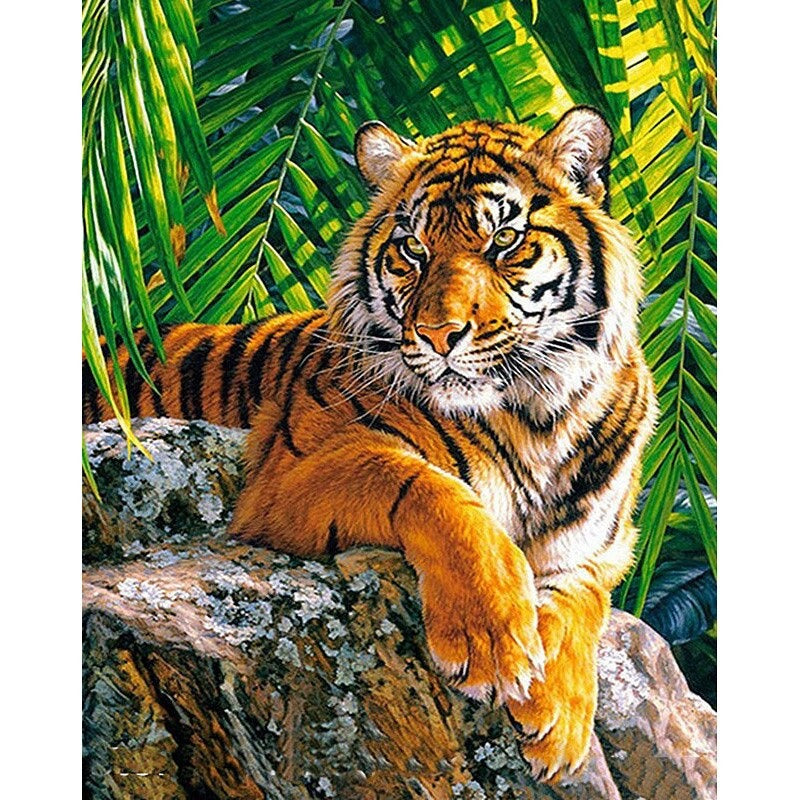 Majestic Tiger Diamond Painting